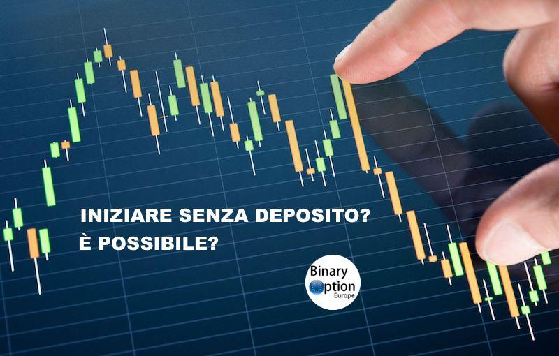 Trading online senza deposito CFD Forex opzioni: bonus italiano