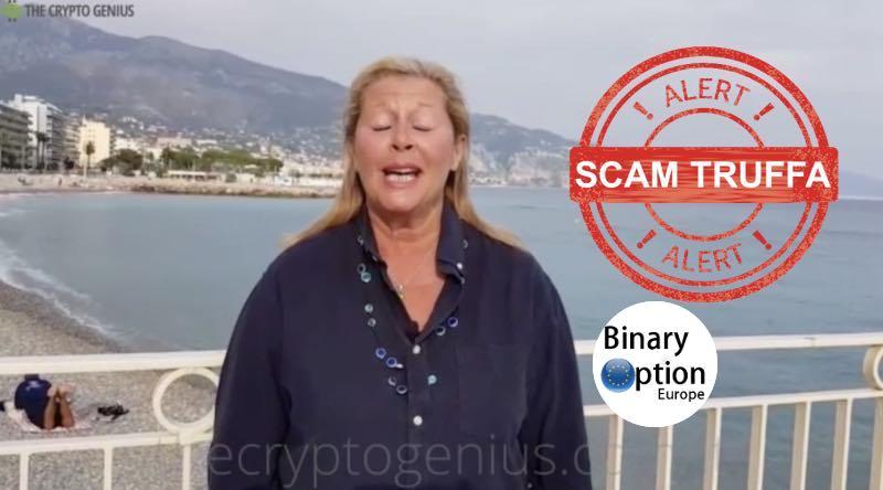 falso testimonial attorice albanese crypto genius