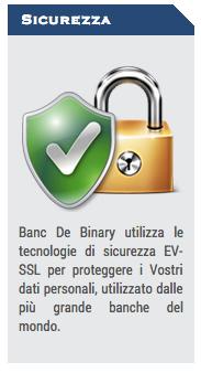banc de binary sicurezza broker regolamentato opzioni binarie