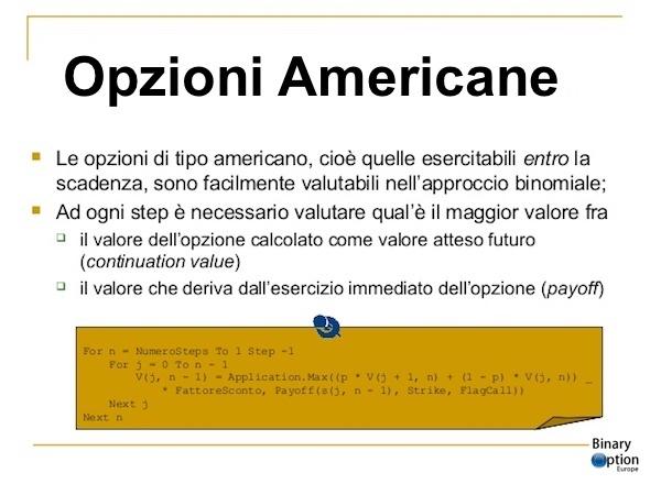 cosa è una opzione digitale classica americana iq option