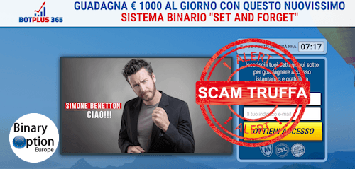 Simone Benetton scam truffa