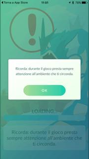 pokemon go termini e condizioni attenzione