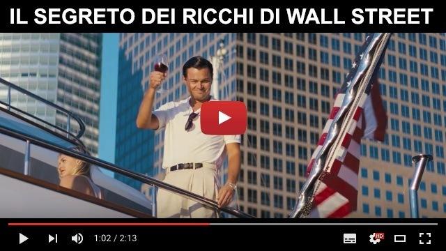 segreto ricchi wall street dicaprio