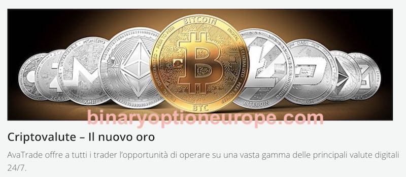 avatrade bitcoin il nuovo oro opinioni