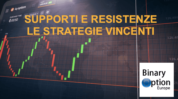 supporti e resistenze le strategie vincenti iq option opzioni binarie
