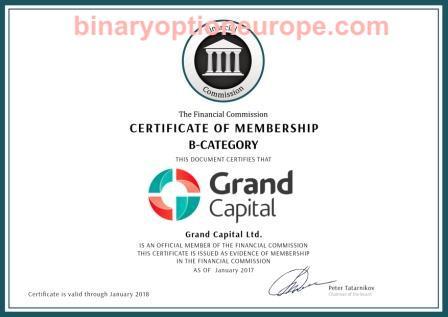 grand capital regolamentazione e licenza