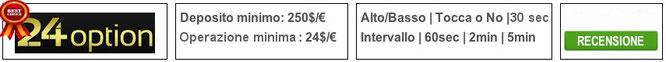 24option migliore broker opzioni binarie