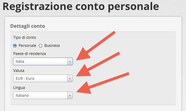 Come registrarsi con Skrill