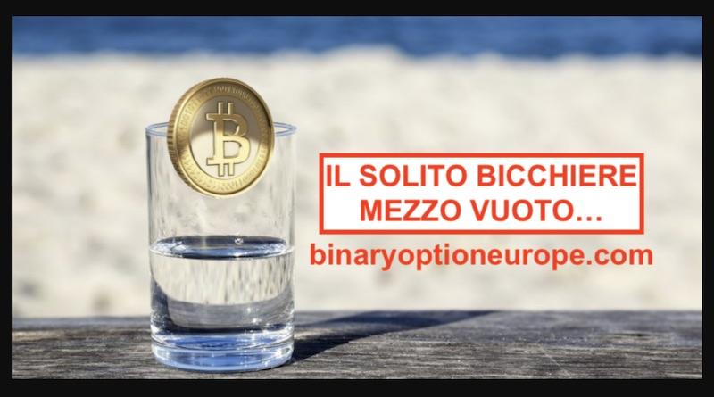 crollo bitcoin come guadagnare al ribasso