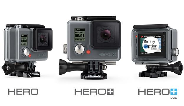 GoPro i prodotti Hero