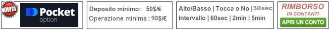 oxmarkets broker opzioni binarie rimborso cashback in contanti no bonus