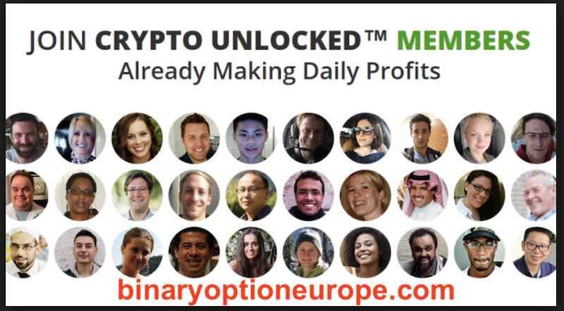crypto unlocked falsi attori testimonial