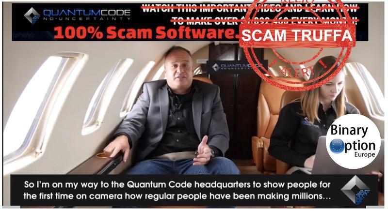 quantum code scam