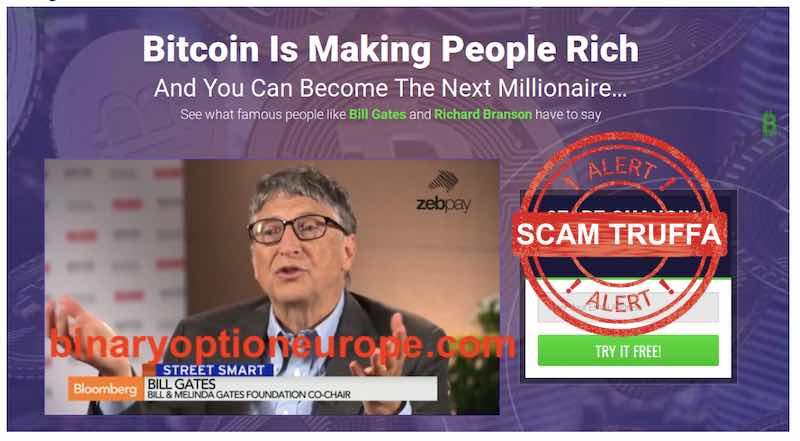 bitcoin trader funziona o truffa