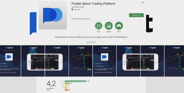 pocket option opinioni android play store