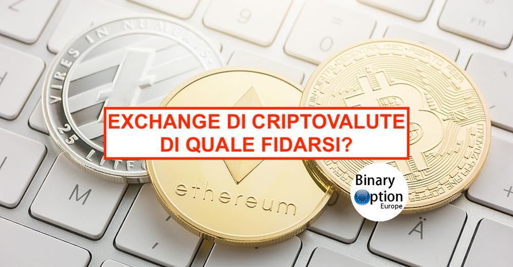 exchange criptovalute migliore)