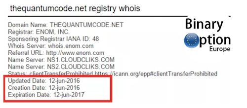 quantum code sito web
