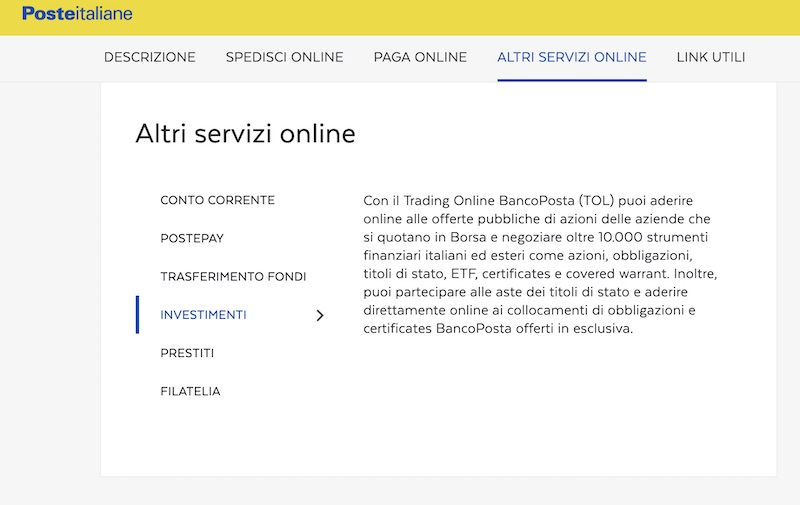 trading online bancoposta opinioni recensioni
