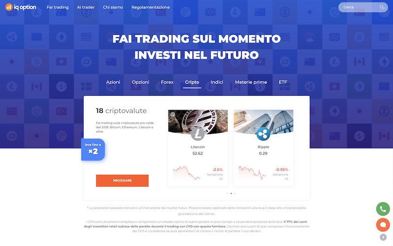 come investire in ripple coin con iq option