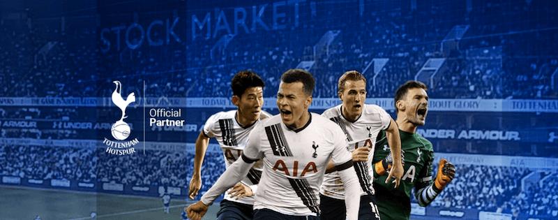 EZTrader sponsor Tottenham