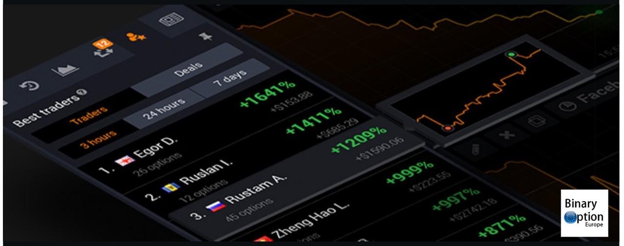 iqoption i migliori traders da seguire e copiare con le opzioni binarie