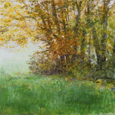Morgens (im Herbst), Acryl | 100 x 100 cm | 2007