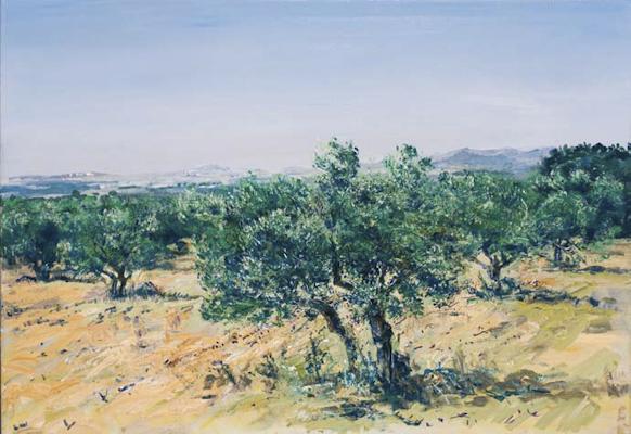 """""""Diesiges Licht (Tunesien)"""", 100x70cm, 2007"""