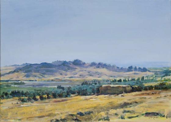Oase ( Tunesien), Acryl  | 50 x 70 cm |  2007