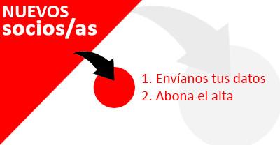 Altas como nuevos/as socios/as | Hasta el 28 de febrero de 2014