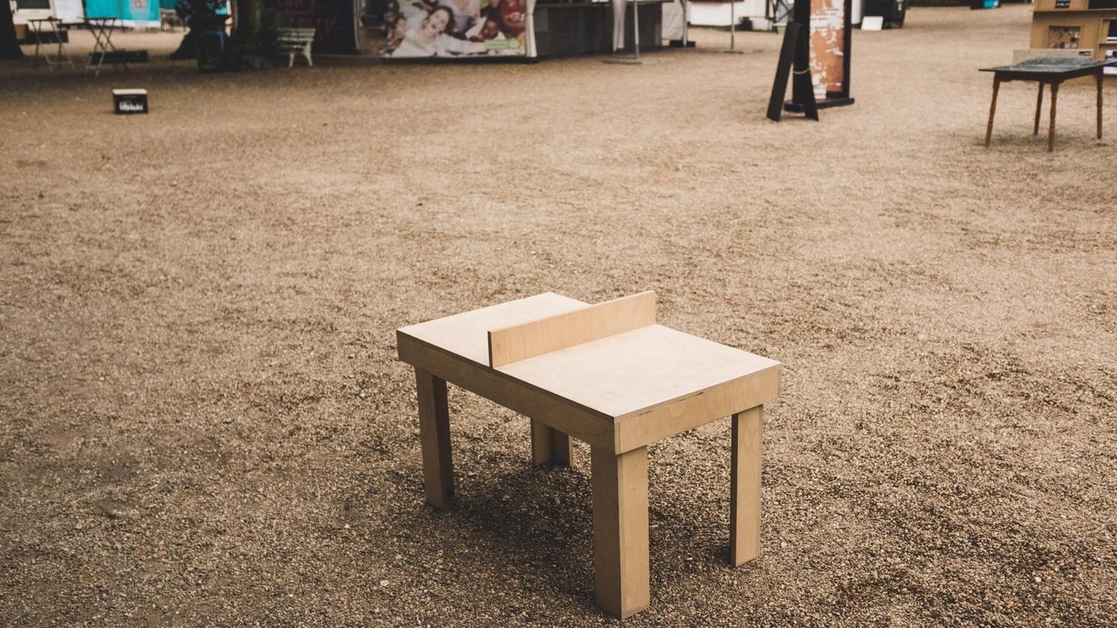 Ping Pong in Düsseldorf: Wo Tischtennisplatten sind.