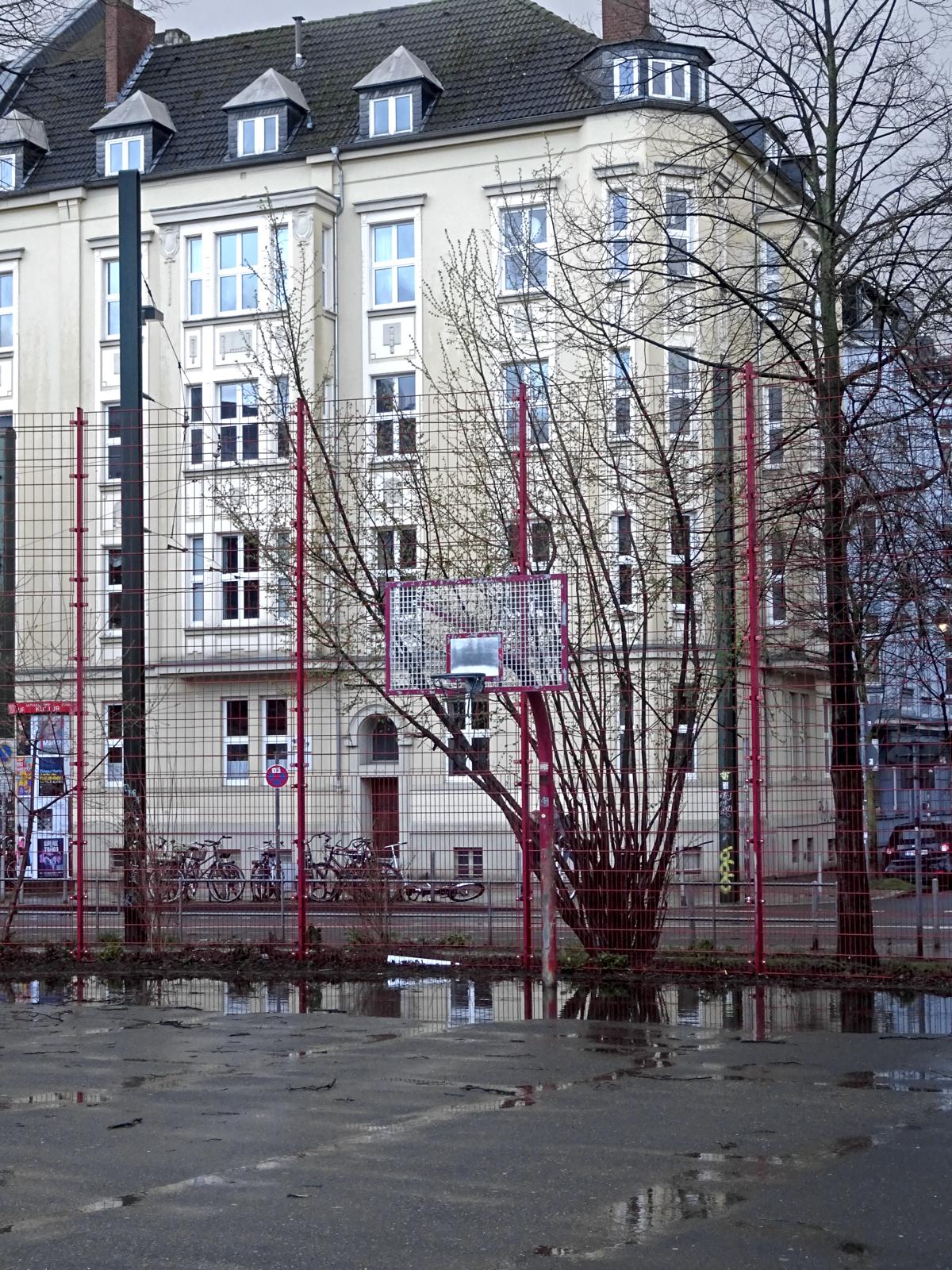 Basketball in Friedrichstadt.