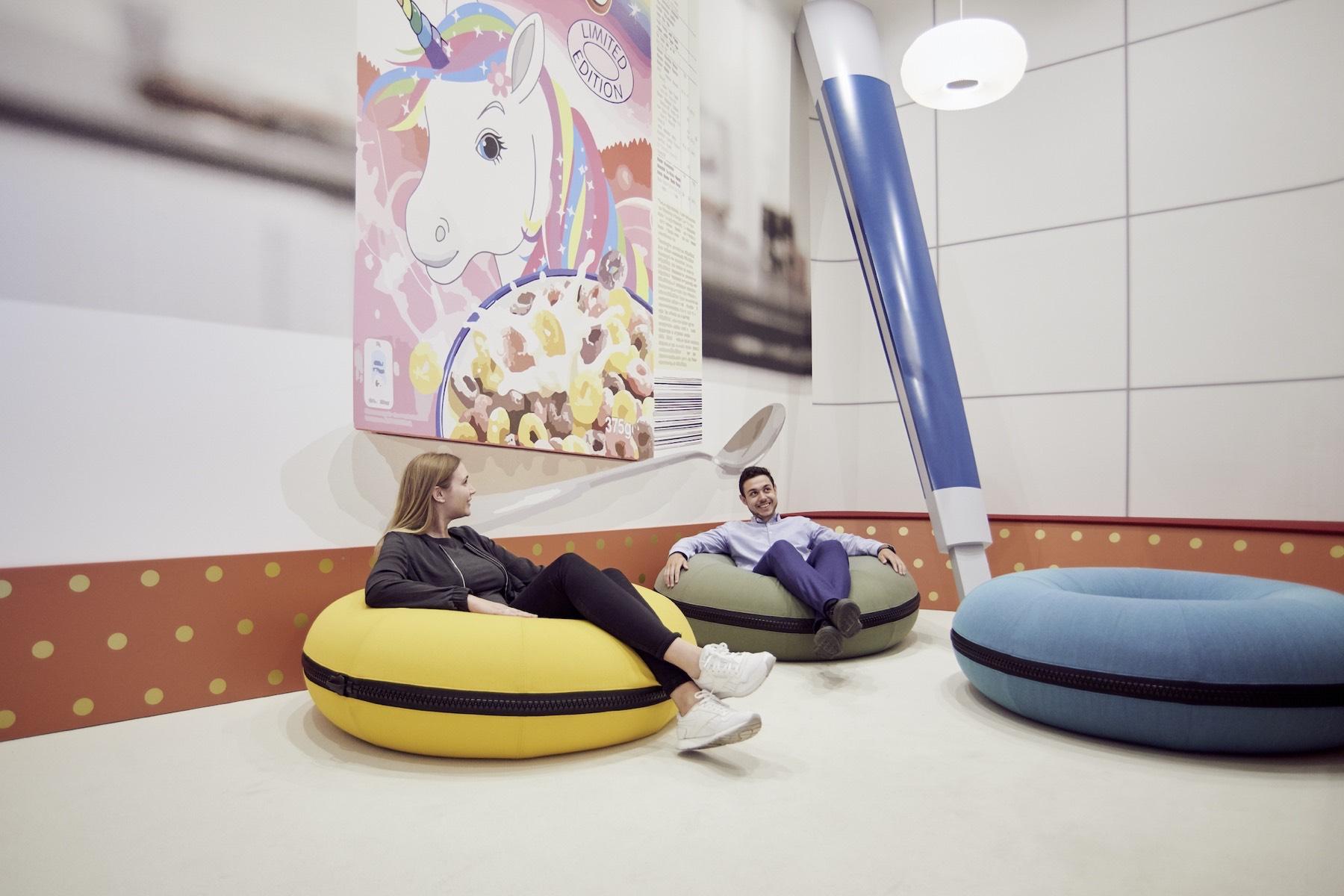 """Shrink Room"": trivago Düsseldorf."