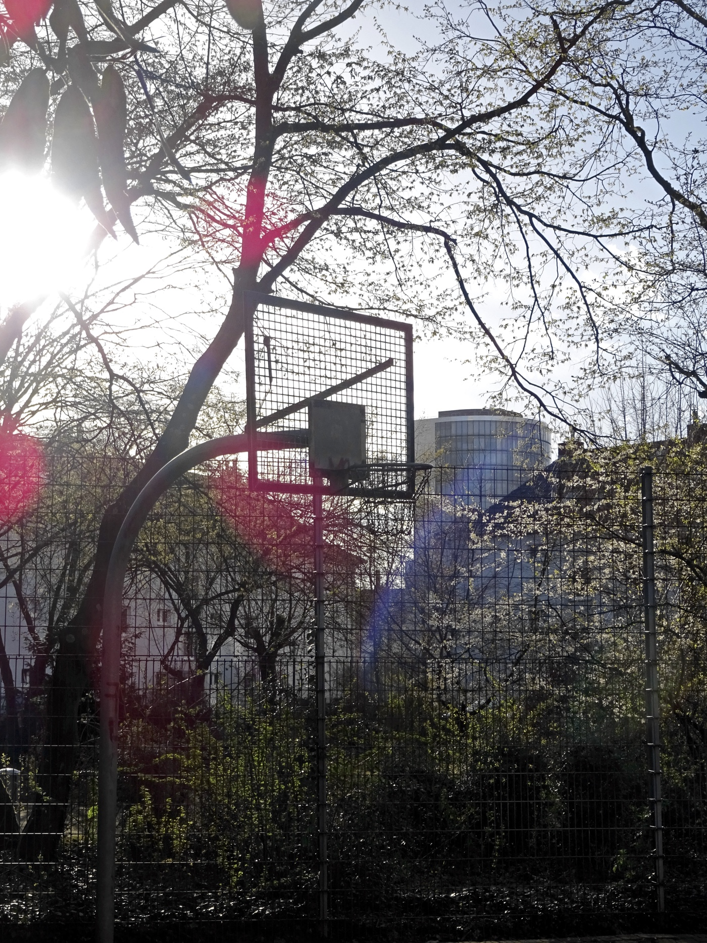 Streetball in Unterbilk.