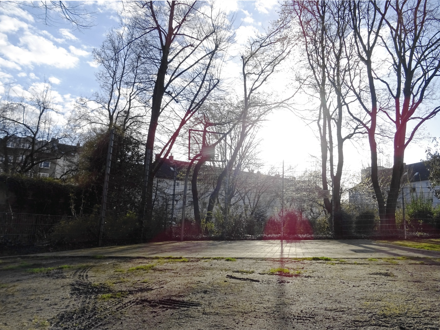Basketball in Unterbilk.