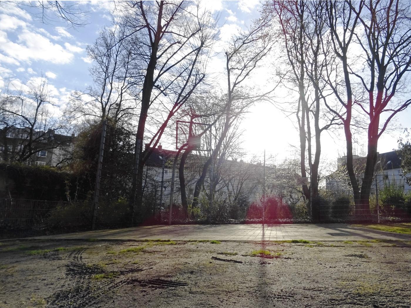 Basketball in Unterbilk.