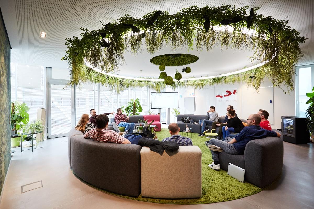 "InVision Düsseldorf: ""Meeting Jungle"" – Foto: Marc Thürbach."