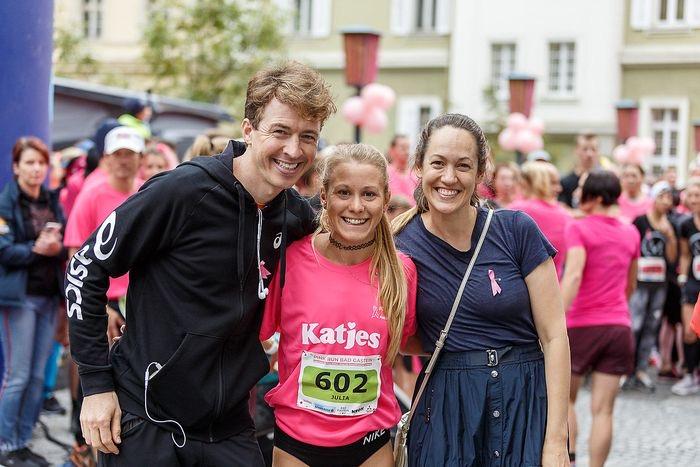 pink run Bad Gastein Julia Mayer Michael Szymoniuk bianca schwarzjirg Krebshilfe Österreich trailrun sieg laufen 2019 pinkribbon