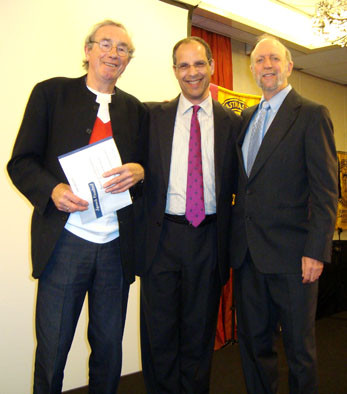 Frank and Bob with Contest Chairman