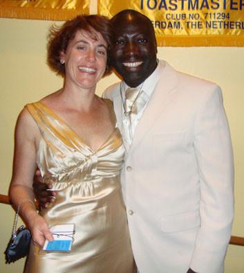 Jill and Emmanuel, Gala Dinner