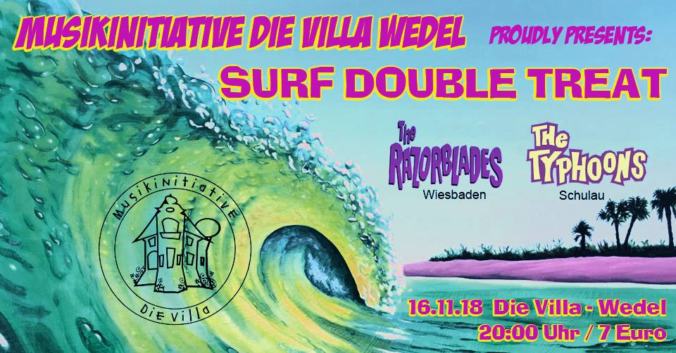Surf Double Treat Villa Wedel 2018