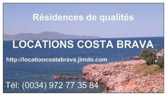 Locations: appartements, villas sur la Costa Brava