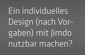 Jimdo Webdesigner aus Stuttgart