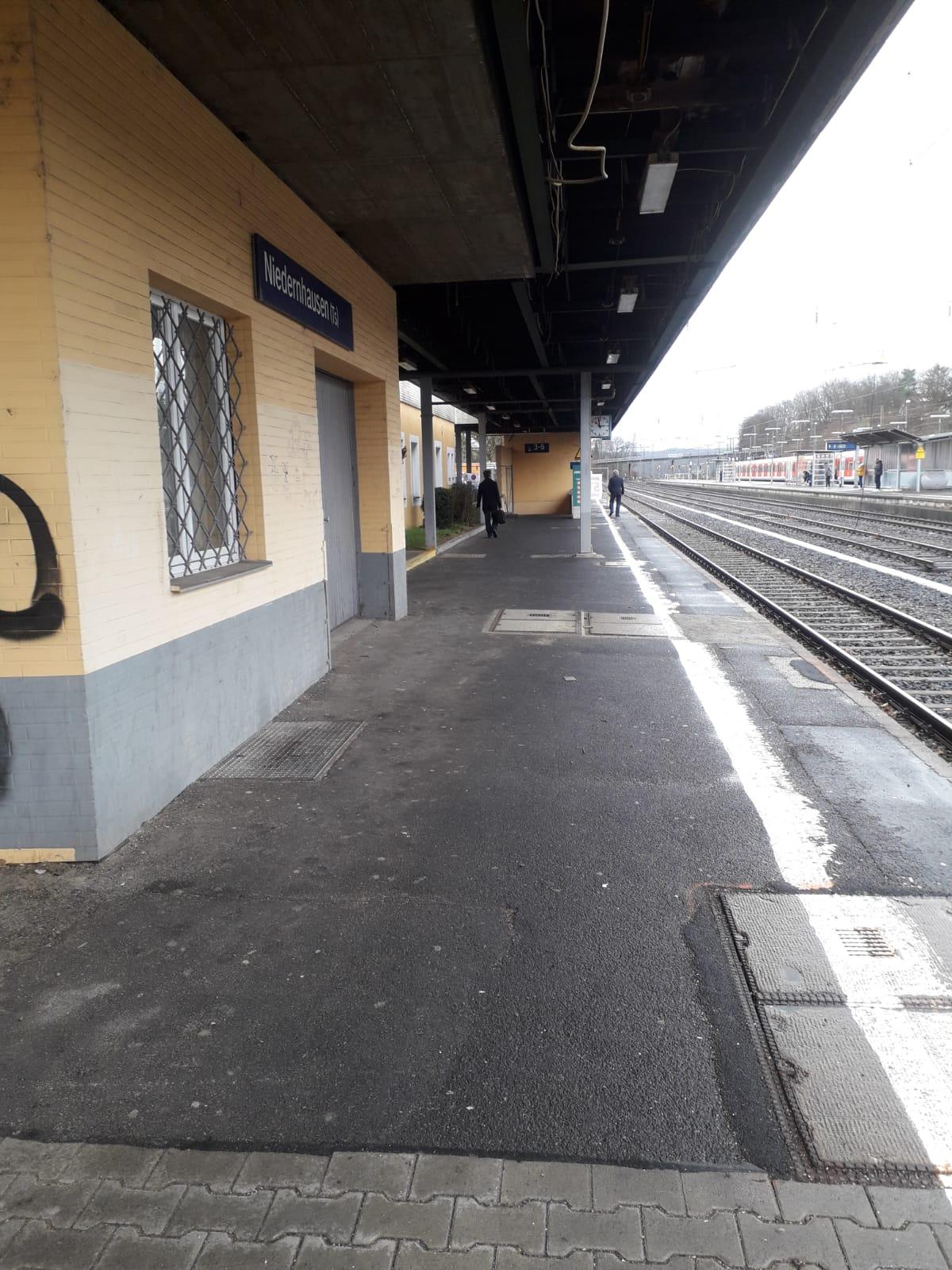 Sanierung & Rückbau Bahnhof Niedernhausen