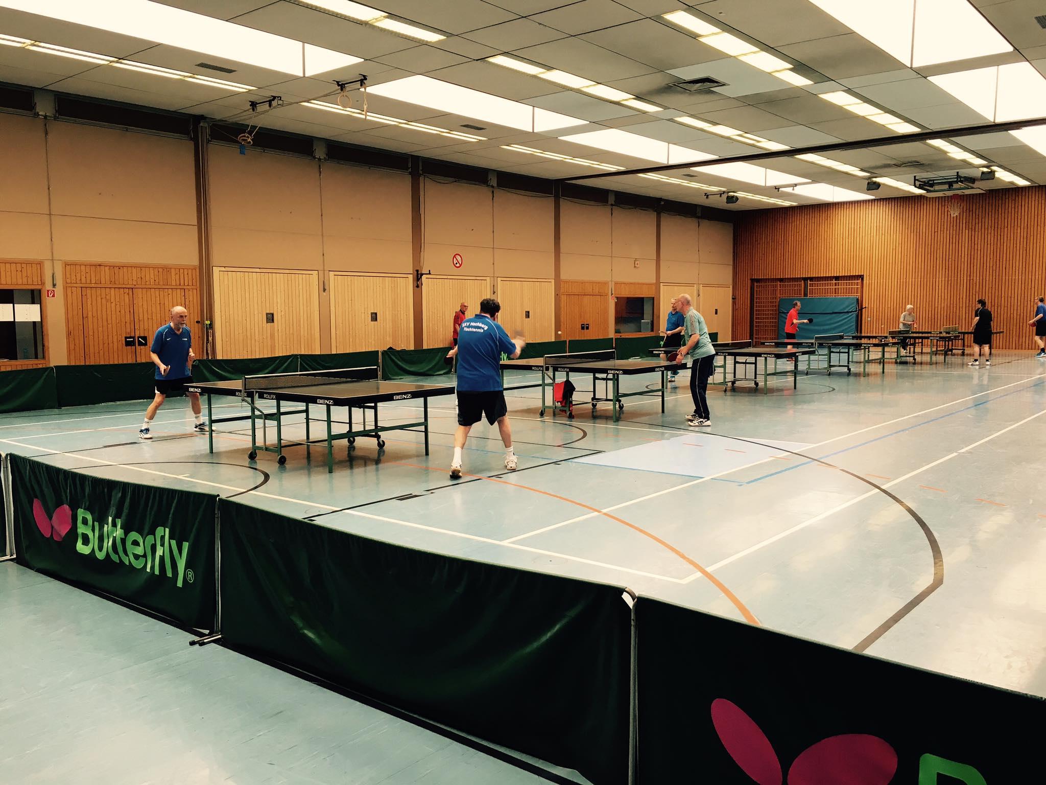 Tischtennis Vereinsmeisterschaft - April 2016