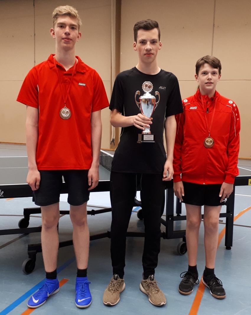 Tischtennis Vereinsmeisterschaft - Mai 2019 - Jungen