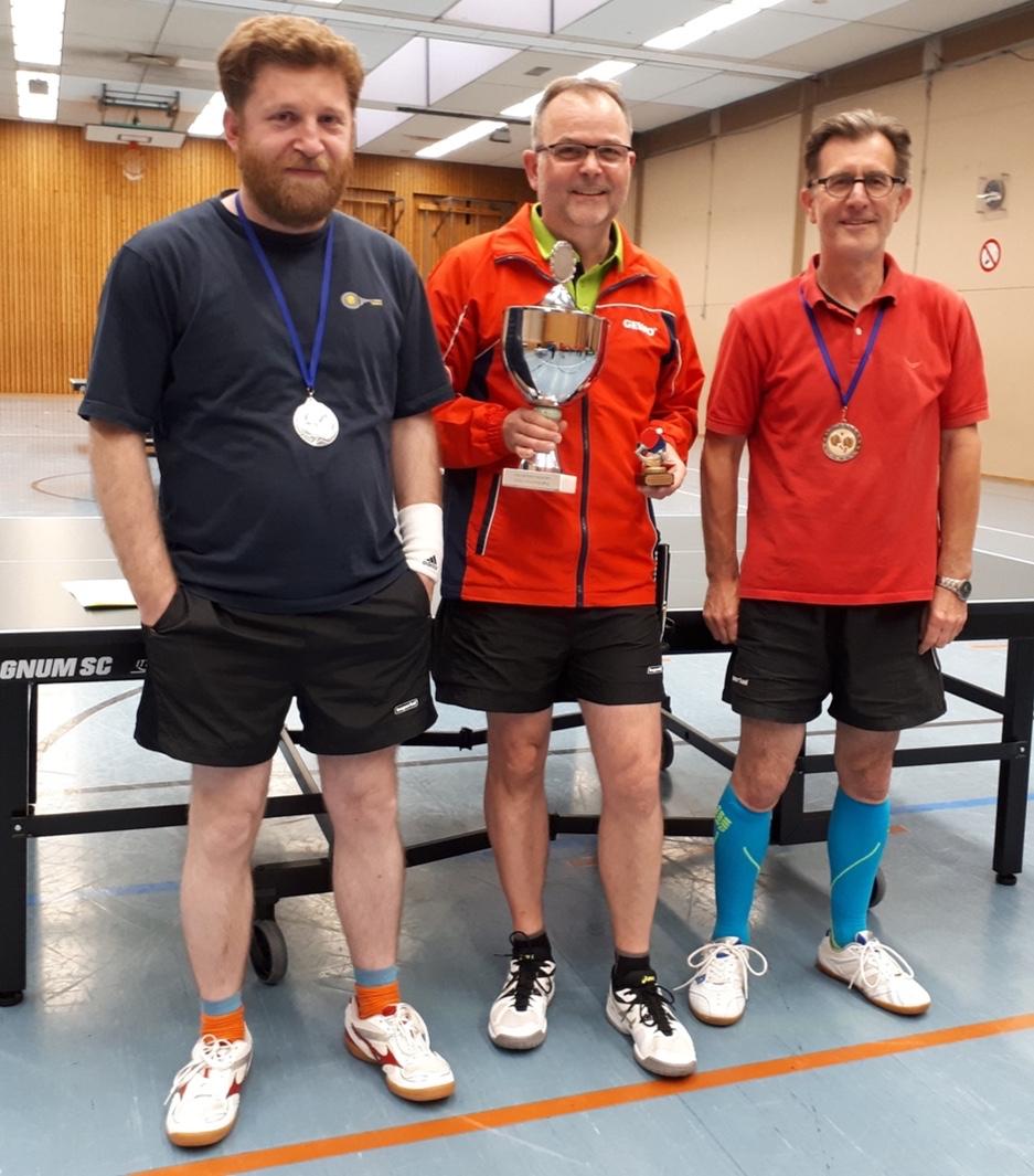 Tischtennis Vereinsmeisterschaft - Mai 2019 - Herren