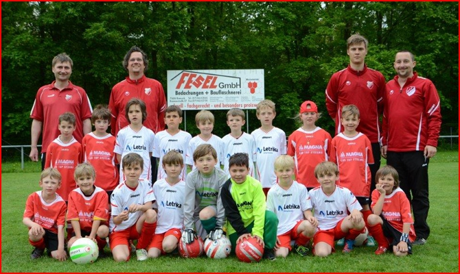 F-Jugend - Saison 2012 / 2013
