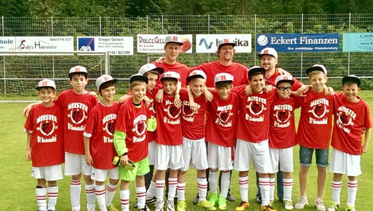 Meister D-Jugend - Saison 2016 / 2017