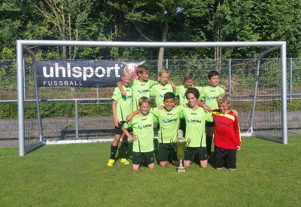 E-Jugend - Sieger Hartwaldpokal 2016