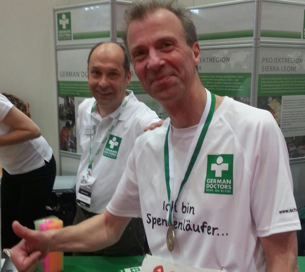 mit dr. harald kischlat (german doctors) nach der hm-bestzeit in paderborn 2014 (1:36.13)